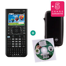 TI Nspire CX CAS Taschenrechner Grafikrechner + Schutztasche Lern-CD Garantie