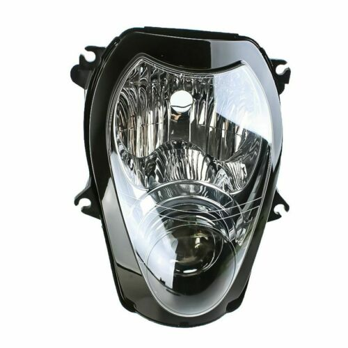 Motorcycle Front Headlight Assembly For Suzuki GSXR1300 Hayabusa 1999-2007 Clear