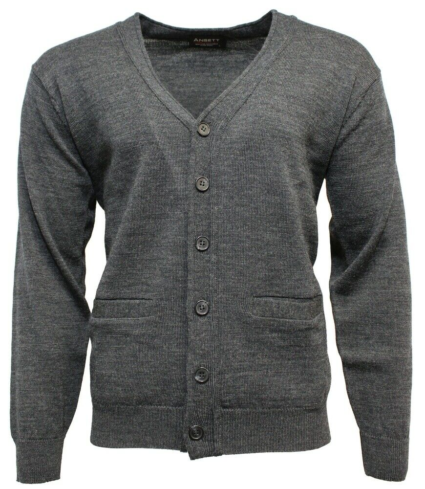 Ansett Superwash Wool Cardigan -  119.99