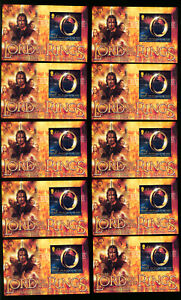 Isle-of-Man-Stamps-1021-XF-OG-NH-S-S-Lord-of-the-Rings-Lot-of-10-Catalog-85