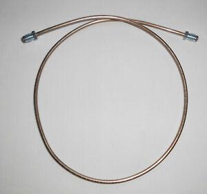 ⛐ Bremsleitung 110mm universal KFZ 2x M10x1 (M10) Ø 4,75mm CuNi mit ABE ⛐