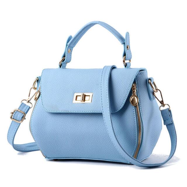 New Women Handbag Tote Purse Shoulder Bag Fashion Leather Messenger Bag Satchel