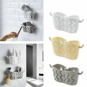 Kitchen-Bathroom-Sponge-Sink-Tidy-Holder-Storage-Rack-Suction-Strainer-Organizer