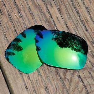 d567574f17 Image is loading Walleva-Mr-Shield-Polarized-Emerald-Lenses-for-Oakley-