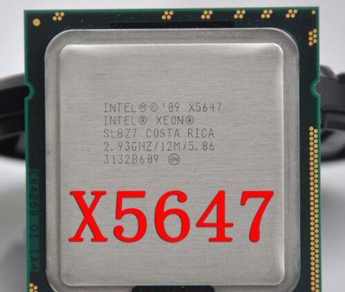 Intel Xeon X5647 Quad Core 2.93GHz 12M 5.86GT//s LGA 1366 CPU Processor //Grease