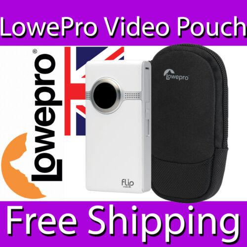LOWEPRO POCKET VIDEO POUCH 20 CASE NEOPRENE MICOFIBRE 8.5 x 3 x 13.5 cm BLACK
