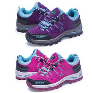 Women Outdoor Hiking Shoes Anti-slip Thickening Sole Climbing Trail Trekking
