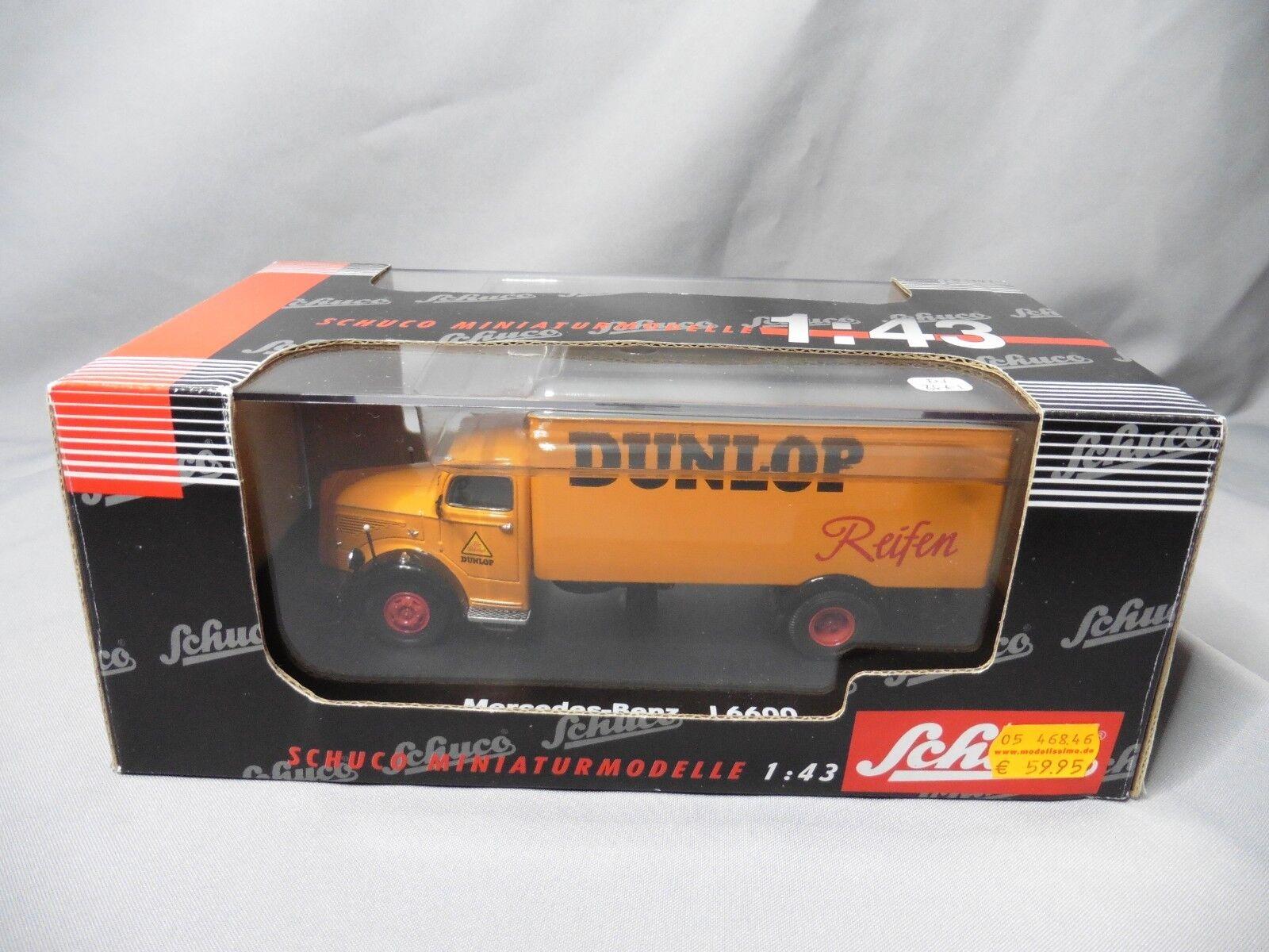 DV8661 SCHUCO MERCEDES-BENZ L6600  FOURGON DUNLOP REF 03021