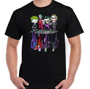 THE-JOKER-T-SHIRT-Mens-Batman-Suicide-Squad-Heath-Ledger-Villain-Unisex-Tee-Top
