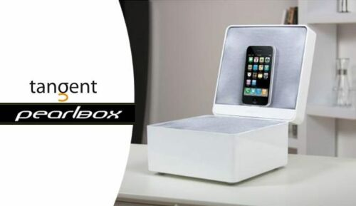 Brand New BLACK ONLY Tangent Audio PearlBox APPLE iPhone iPod docking station