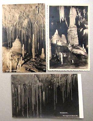 Macocha Schlucht Tschechien 3x Alte Ak 1922 - 1927 Postkarten Ansichtskarten