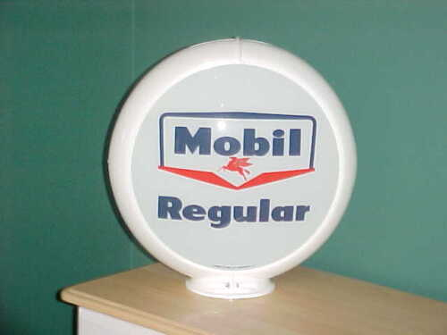 MOBIL REGULAR GAS PUMP GLOBE