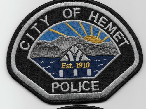 Hemet Police State California CA