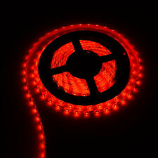 Red 5M Waterproof 300 LED 3528 SMD Flexible LED Strip Light Lamp DC 12V