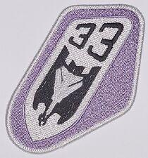 Luftwaffe Aufnäher Patch JaBoG 33 - TaktLwG 33 (Lila) ........A2636