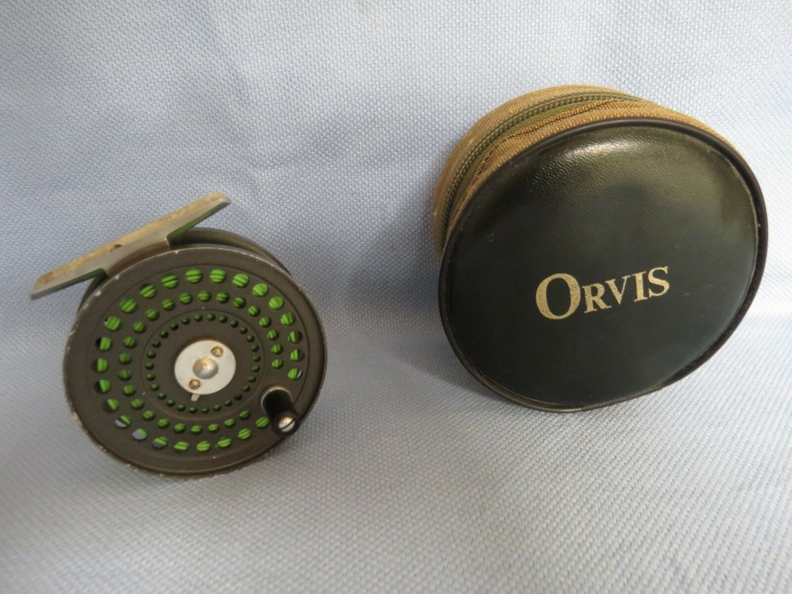 ORVIS CFO 111 TROUT REEL IN ORVIS POUCH   MADE IN ENGLAND  with 60% off discount