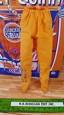 Figure Hot Toys 1:6 MMS407 Harley Quinn Prisoner  Ver Orange Prisoner Pants