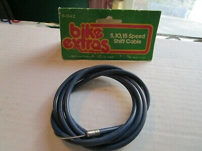5 NOS Universal inner Shift Cable Road //mtn 3 speed //huret Bike Cycle Bicycle