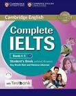 Testbank Complete IELTS. Bands 4-5 B1 . Student's Book. (without answers) (2016, Taschenbuch)