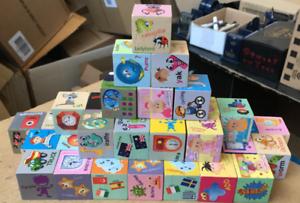 Wooden-40-Piece-Blocks-Building-Bricks-Kids-Educational-Toy-Letters-Shape-Gift