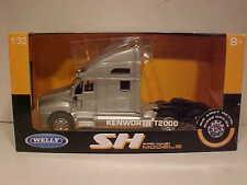 Kenworth T2000 Semi Tractor Rig Truck Diecast 1:32 Welly 12 inch Silver