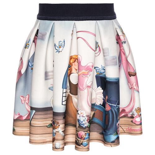 116 New wi 19 Monnalisa Skirt Gonna St.Cinderella Size 98 110 104