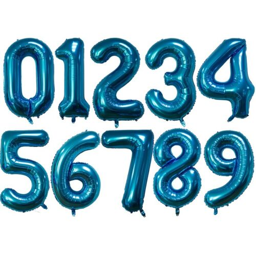 32 Inch Large Foil Birthday Number /& Age Helium Balloons Party Stock