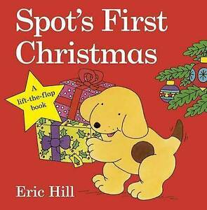 Spot-039-s-First-Christmas-by-Hill-Eric-Board-book-Book-9780723271512-NEW