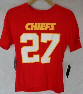 wholesale dealer cbc8d fd72d Details about Nike Kansas City Chiefs t-shirt #27 youth size L 14/16