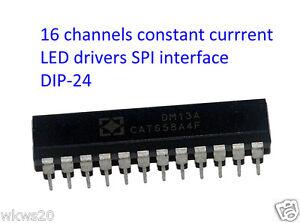 16-channels-constant-current-LED-drivers-DIP-arduino-DM13A-STP16CP05-TLC5928