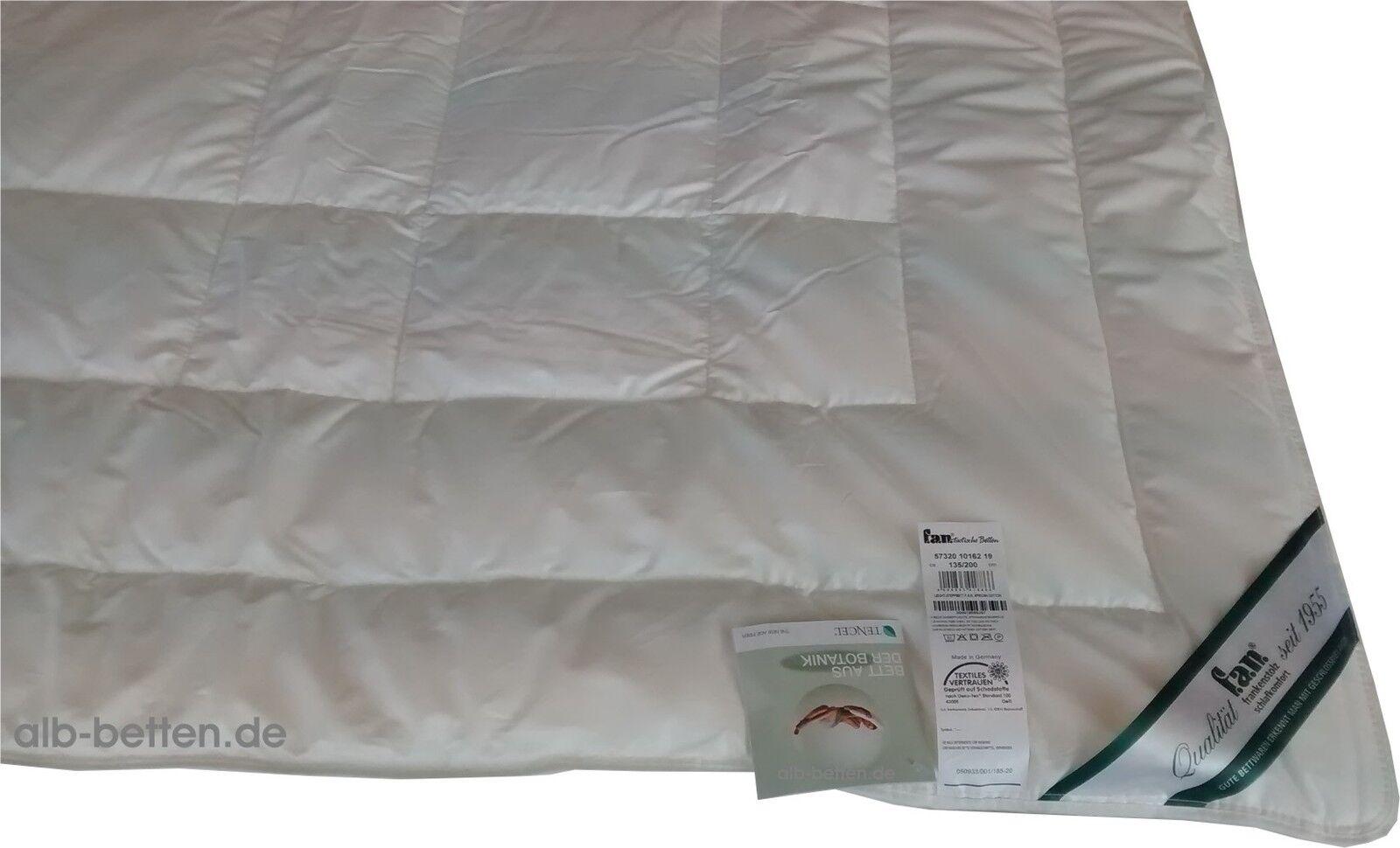 Cotton Afrika-Tencel Baumwoll Sommerbett 155 220 cm von Frankenstolz