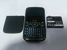 Pantech Link P7040 Black Blue AT&T Good Condition Fully Functional GREAT DEAL!