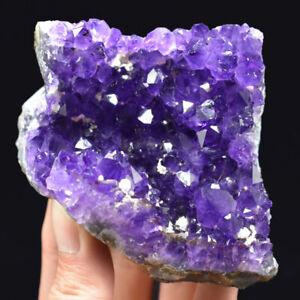 Natural-Amethyst-Geode-Vug-Purple-Crystal-Cluster-Uruguay-Specimen-Reiki-266G