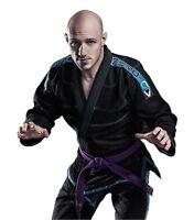 Tatami Zero V3 Super Light Weight Competition Bjj Brazilian Jiu-jitsu Gi Black