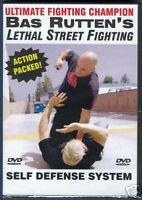 Bas Rutten Lethal Street Fighting Self Defense Dvd