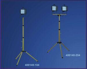 Teleskop stativ m mit strahler w tageslicht und m