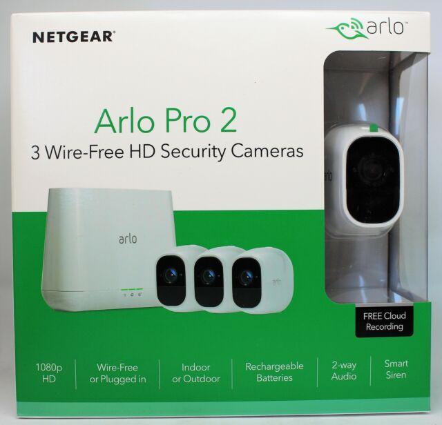Netgear Arlo Pro 2 VMS4330P 3 système de sécurité la caméra HD VMS4330P-100EUS