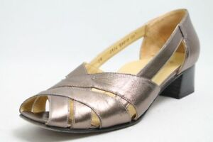 Cherry-confort-Schuhe-bronze-Leder-Gr-39-UK-6