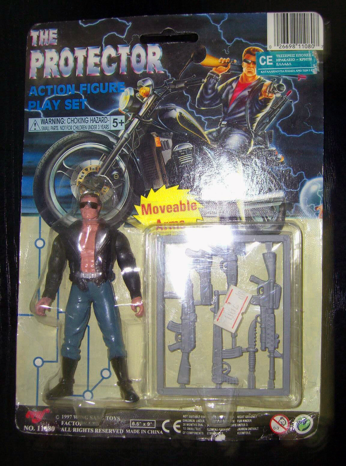 VINTAGE TERMINATOR THE PredECTOR ACTION SET FROM 90s US FIGURE (RARE) NOT KENNER