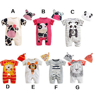BABY-TODDLER-BOY-GIRL-FANCY-ANIMAL-CLOTHES-ROMPER-HAT-JUMPSUIT-OUTFITS-COSPLAY