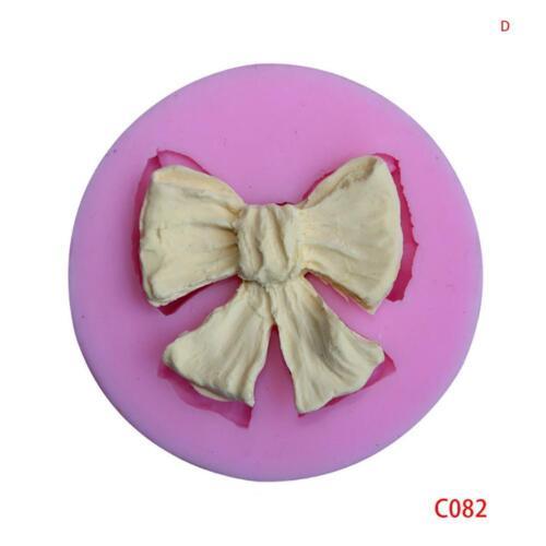 Bear Bow DIY Silicone Fondant Mold Cake Decor Chocolate Sugarcraft Mold