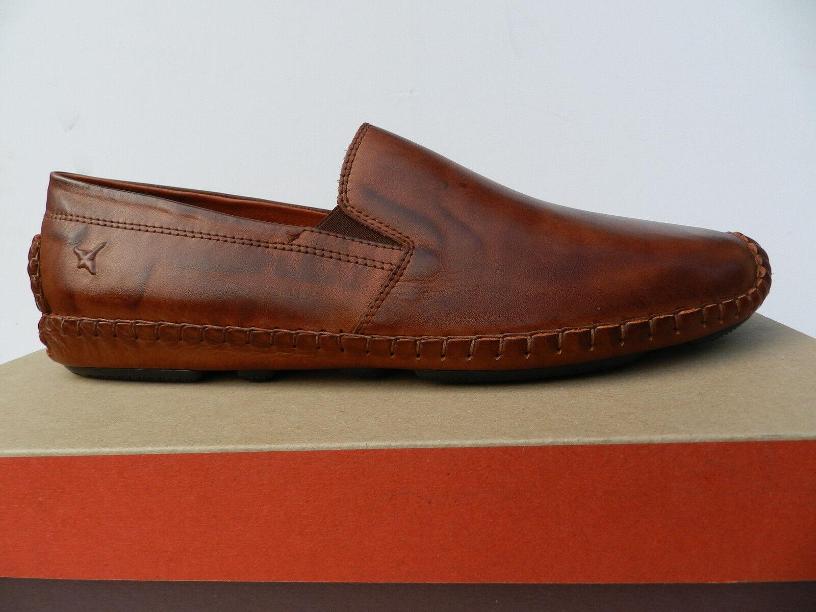 Pikolinos Jerez 09z 5511 shoes Homme 40 Mocassins Tan Slip on Derbies Neuf