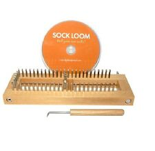 KB Authentic Adjustable Knitting Board SOCK LOOM with DVD KB4485