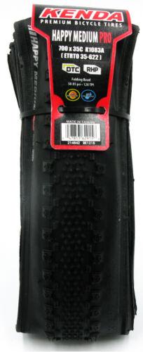1 or 2Pak Kenda K1083A Happy Medium PRO DTC RHP 700x35 Folding Tire Cyclocross