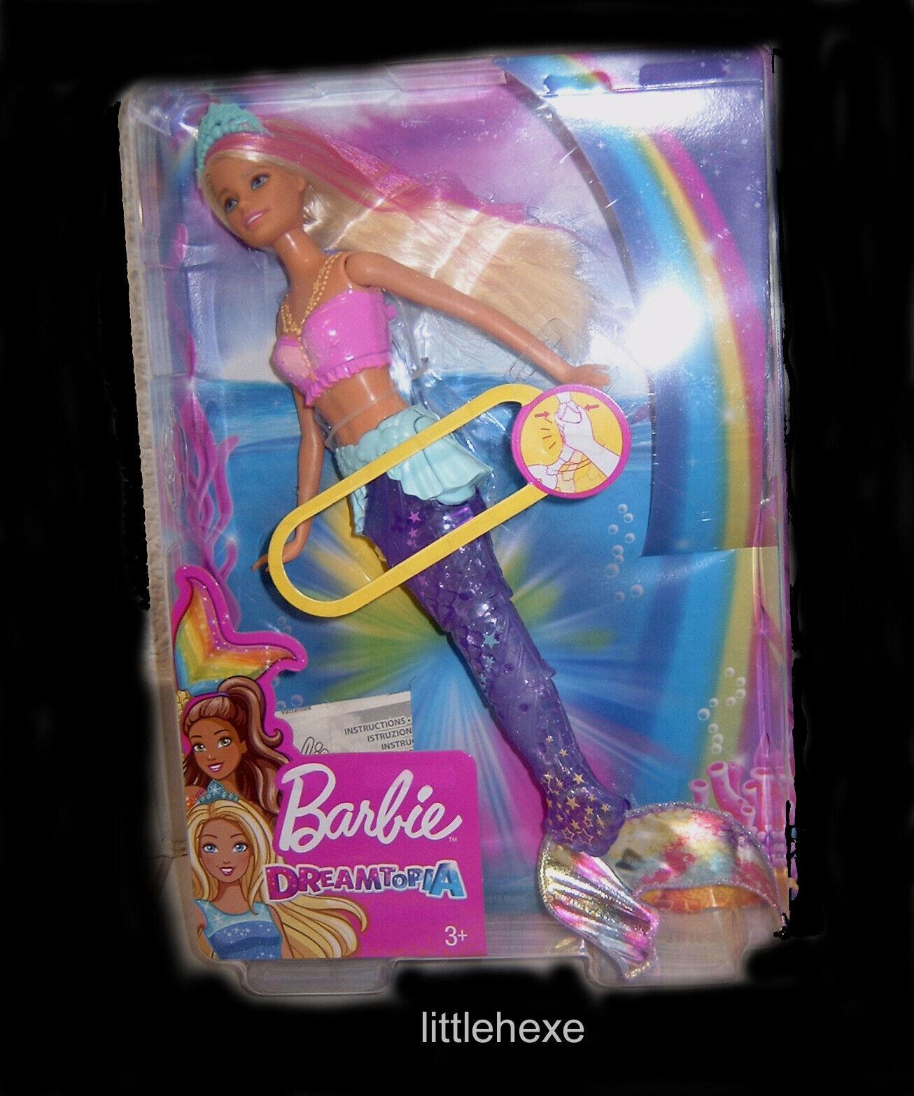 Barbie Dreamtopia Dreamtopia Dreamtopia Glitzerlicht Meerjungfrau Mattel GFL82 NEU OVP d6e4b0