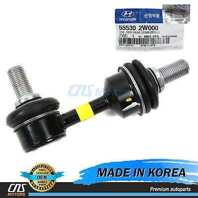 Genuine Hyundai 55540-3R000 Stabilizer Link Assembly Right Rear