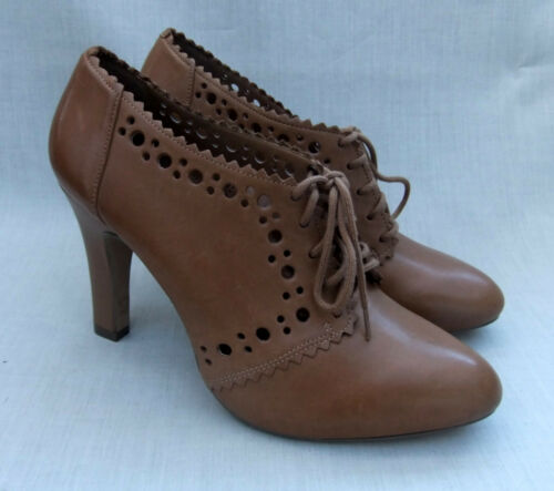 NEW CLARKS SOFTWEAR DIARY RECORD WOMENS TAN LEATHER SHOES