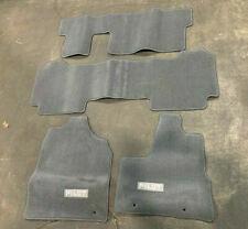 Nos 2003 Honda Pilot Floor Mat Set Gray 83600 S9v A00zb Honda 83600 S9v A00zb Fits 2003 Honda Pilot