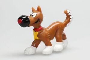 Figurine plastique Lucky Luke Rantanplan avancant