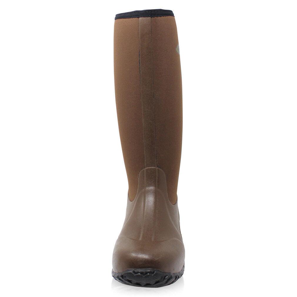 Dirt Muck Boot® Unisex Neoprene Wellington Muck Dirt Field Fishing Boots® Wellies Brown dc4bb3